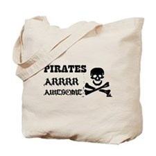 Pirates Arrr Awesome Tote Bag