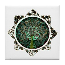 Tree of Life Star Tile Coaster