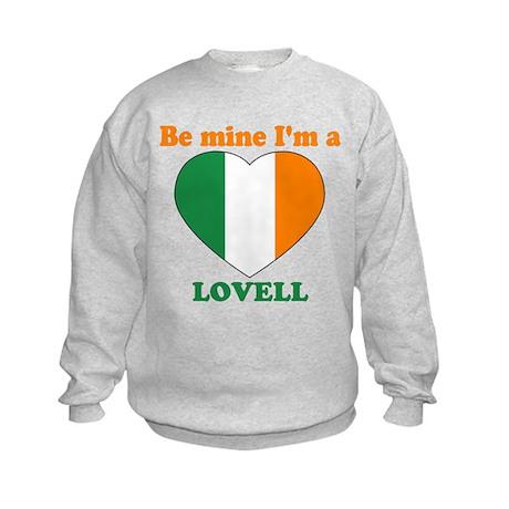 Lovell, Valentine's Day Kids Sweatshirt