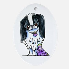 Japanese Chin Dragon Ornament (Oval)