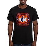 USS MEMPHIS Men's Fitted T-Shirt (dark)