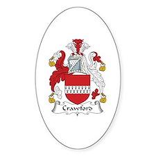 Crawford Oval Decal
