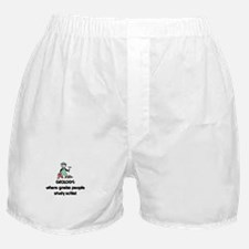 Cute College geology Boxer Shorts