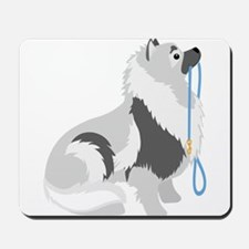 Keeshond Leash Mousepad