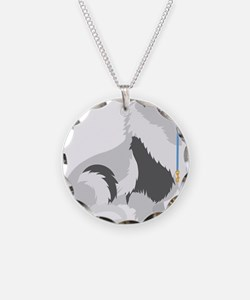 Keeshond Leash Necklace