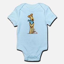 Airedale n Puppy Body Suit