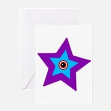 Starro - The Original Facehugger Greeting Cards