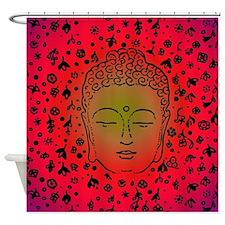 Cute Buddha Shower Curtain