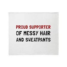 Proud Supporter Throw Blanket