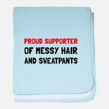 Proud Supporter baby blanket