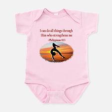 GYMNAST PHILIPPIANS Infant Bodysuit
