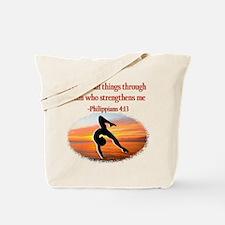 GYMNAST PHILIPPIANS Tote Bag