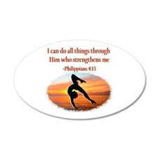 GYMNAST PHILIPPIANS Wall Decal