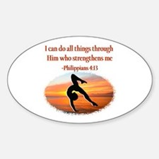 GYMNAST PHILIPPIANS Decal