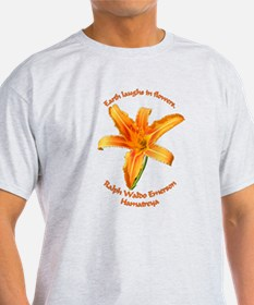 Earth Laughs in Flowers - Emmerson T-Shirt