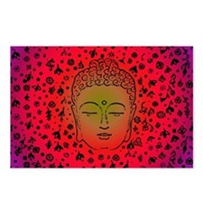 Funny Buddha Postcards (Package of 8)