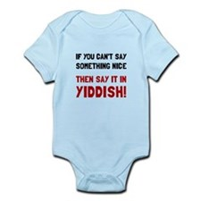 Say It In Yiddish Body Suit