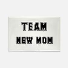 TEAM NEW MOM Rectangle Magnet