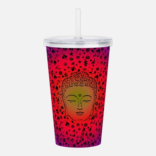 Cute Indonesian Acrylic Double-wall Tumbler