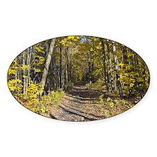 Autumn Hiking Trail Decal