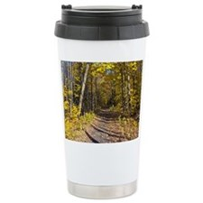 Autumn Hiking Trail Travel Mug
