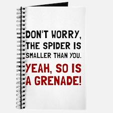 Spider Grenade Journal