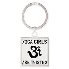 Yoga Girls Twisted Keychains