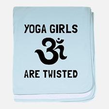 Yoga Girls Twisted baby blanket