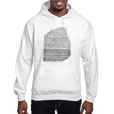 Rosetta Stone Hoodie Sweatshirt