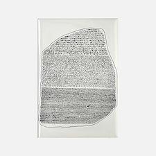 Rosetta Stone Rectangle Magnet