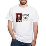 Richard iii Mens White T-shirts