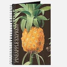 Modern vintage tropical pineapple Journal