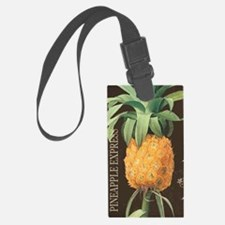 Modern vintage tropical pineapple Luggage Tag