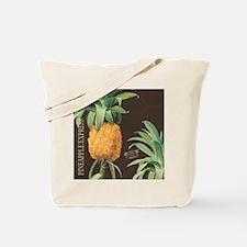 Modern vintage tropical pineapple Tote Bag