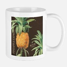 Modern vintage tropical pineapple Mugs