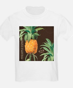 Modern vintage tropical pineapple T-Shirt