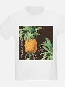 Modern vintage tropical pineapple T-Shirt