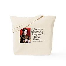 Cute Horse quote Tote Bag