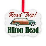 Road trip hilton head Picture Frame Ornaments