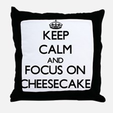 Cute Cheesecakes Throw Pillow