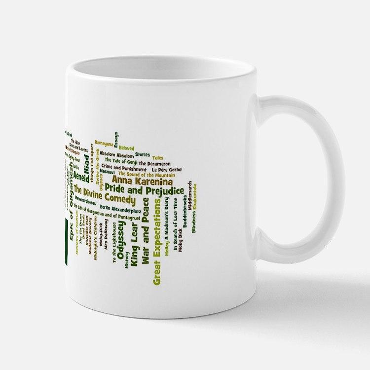 Literature's Best Books Mug
