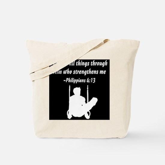 MENS GYMNAST Tote Bag
