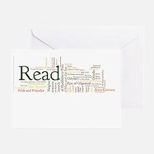 Literature's Best Books Greeting Card