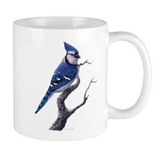 bluejay bird Mugs