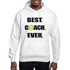 Best Coach Ever Tennis Hoodie