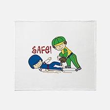 Safe! Throw Blanket