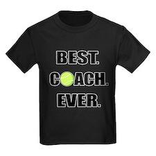 Best Coach Ever Tennis T-Shirt