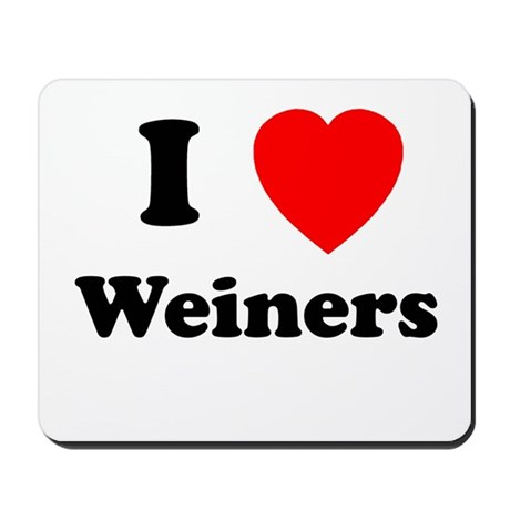 Weiners Mousepad