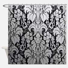 Unique Damask Shower Curtain