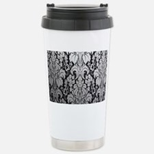 Cute Damask Travel Mug